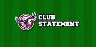 Sea Eagles Club Statement