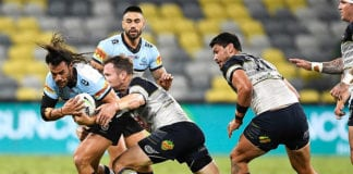 NRL Rd 4 - Cowboys v Sharks