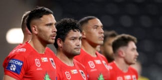 NRL Rd 4 - Bulldogs v Dragons