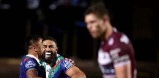 NRL Rd 13 - Sea Eagles v Warriors