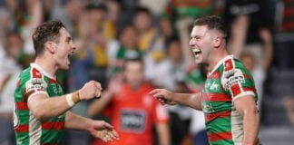 NRL Semi Final - Eels v Rabbitohs